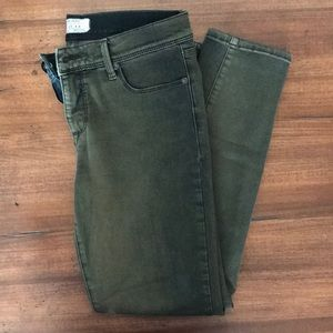 Free People Army Green Pants - Perfect Condition!